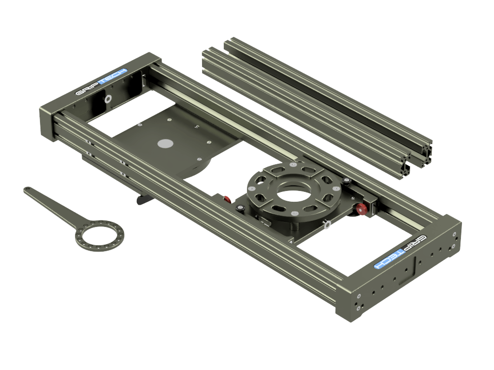 3 Foot Slider(≈1m)Including 2ft Rail SetIncluding Flight Case