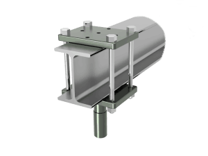 "I-Beam To 1""1/8 Bracket"