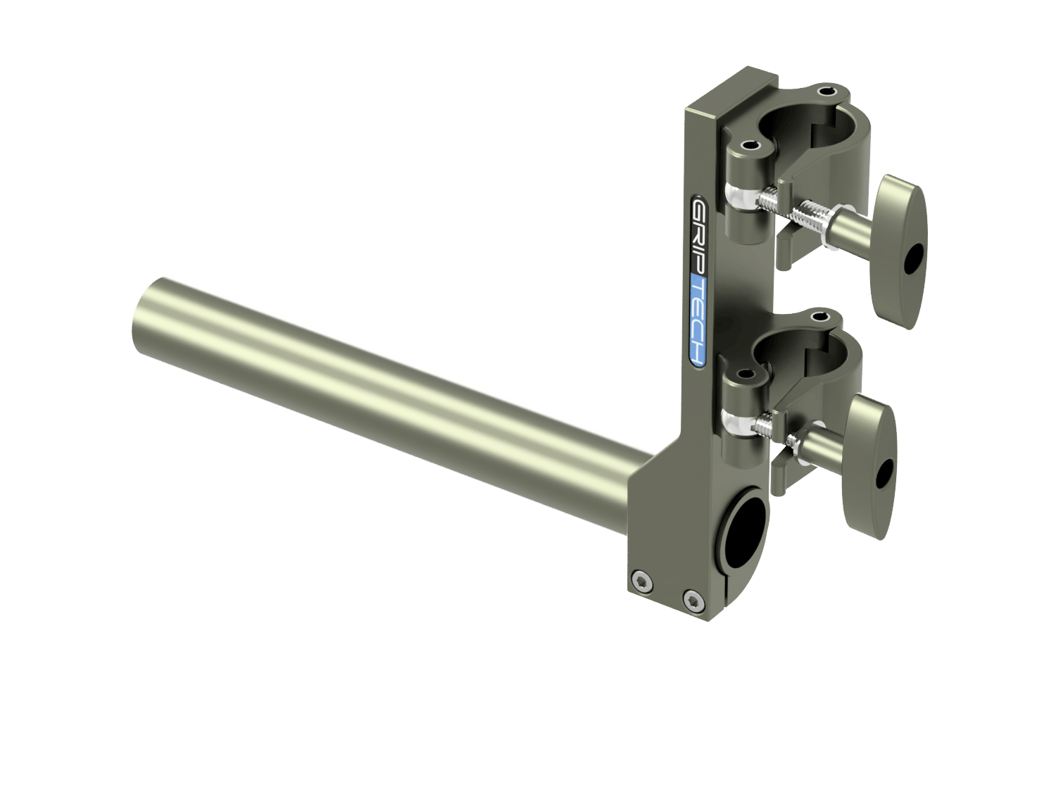 T Bar Bracket+ 1 Scaff Tube (L=600mm)