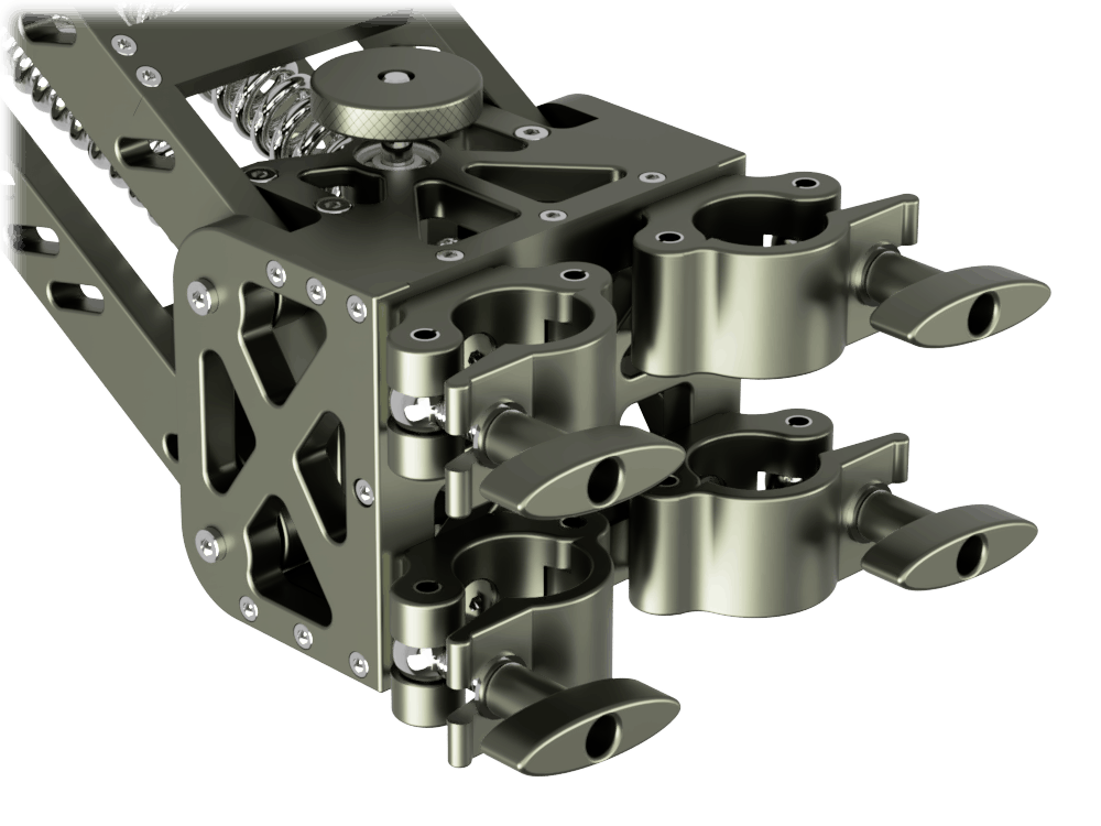 4 x Scaff Clamps