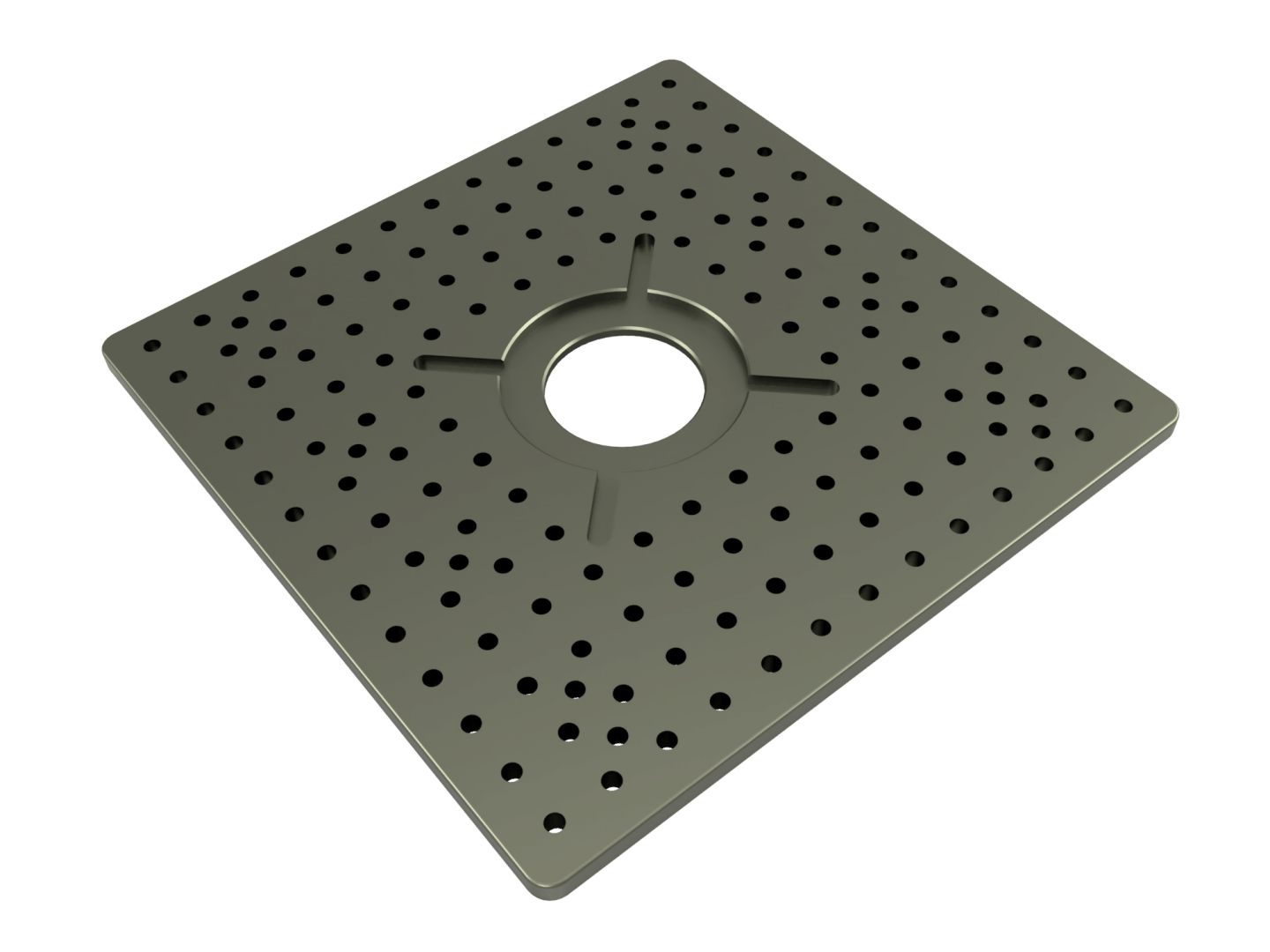 Large Mounting Plate (339 x 339 x 12)mm