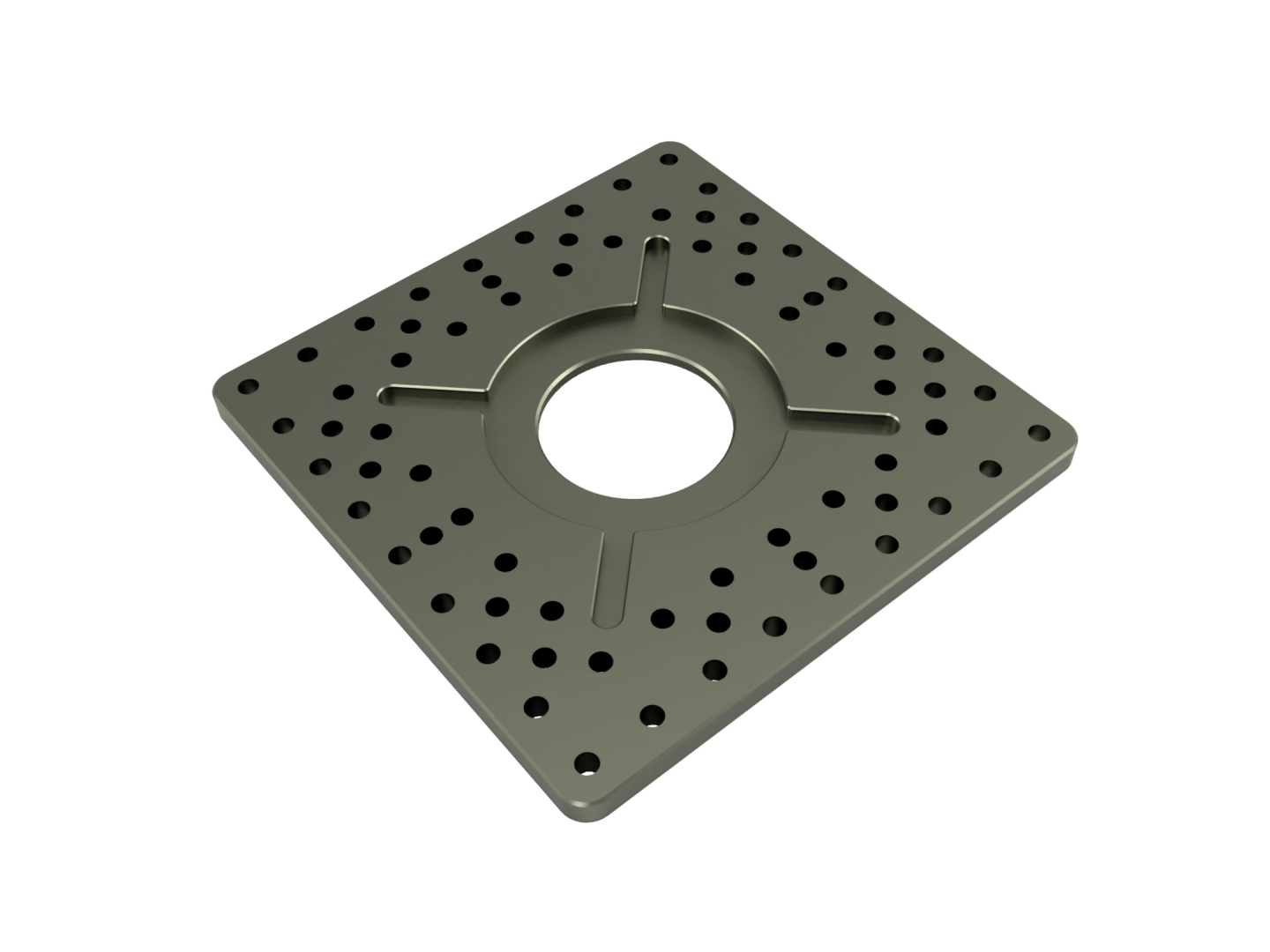 Small Mounting Plate
